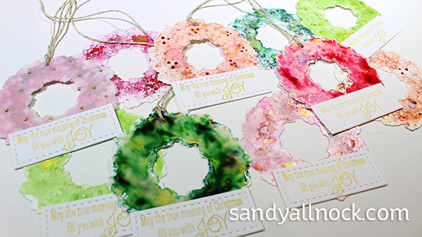 Sandy Allnock Wreath Ornaments
