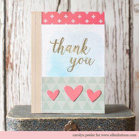 Ellen hutson pink thank you card 2