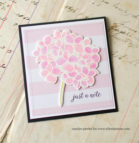 Pink just a note card