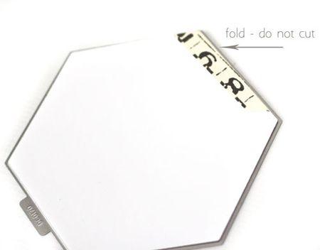 Die-cut-hexagon-card-base