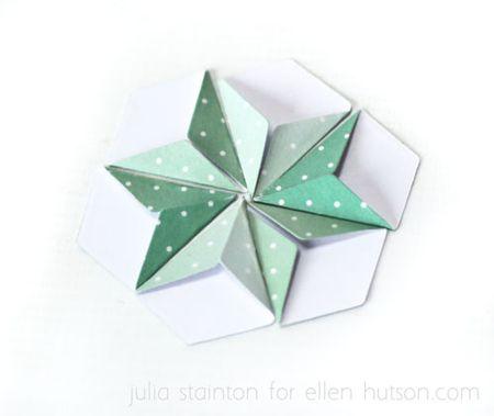 Hexagon-fold-flower
