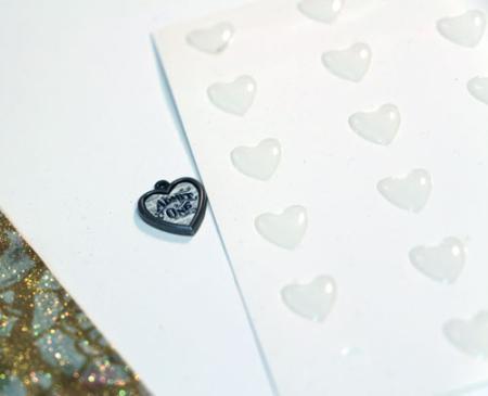 Heart-charm