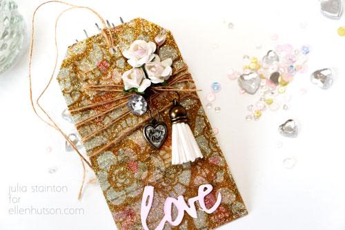 Glitter-love-tag