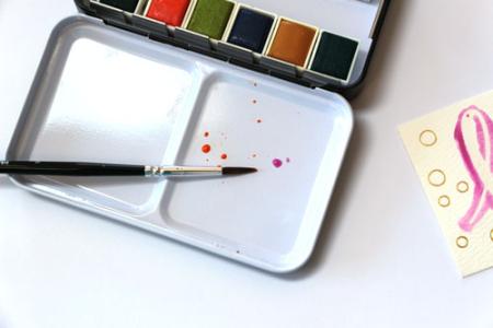 Watercolor-pan