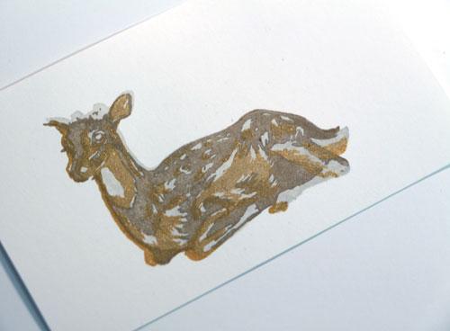 Deer-three-step