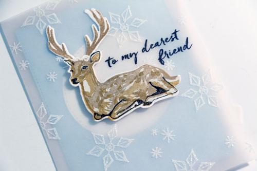 Deer-adhere