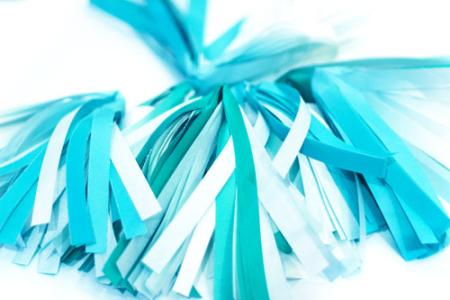 Folded-tassels