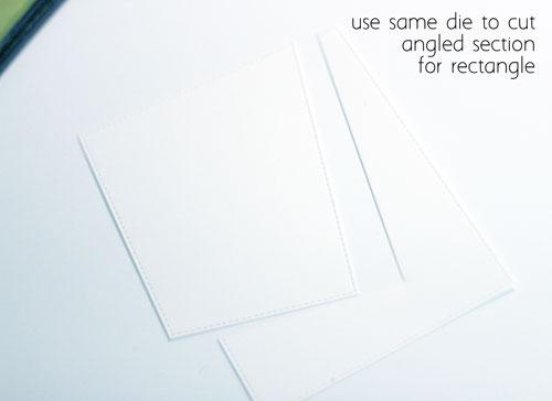 Double-die-cut