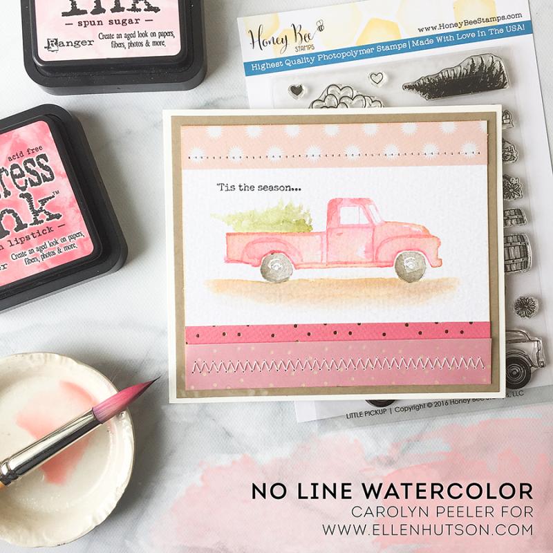 Tis the season no line watercolor promo image