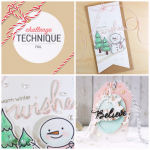 12 Tags of Christmas with a Feminine Twist Foil Challenge