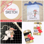 12 Tags of Christmas with a Feminine Twist Sketch Challenge