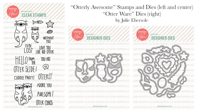 Otter stamps and dies
