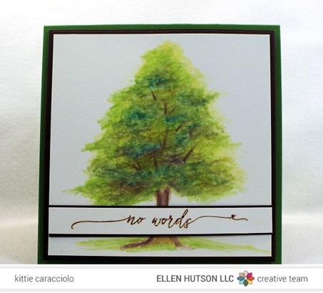 KC Watercolor Pencil Tree  2