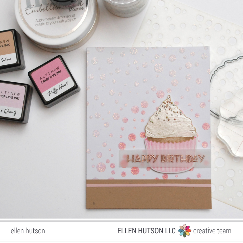 Altenew Cupcake
