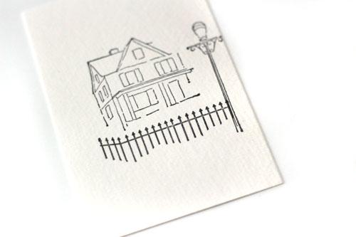 Stamp-scene