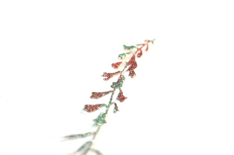 Glitter-bonded