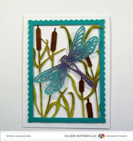 KC Impression Obsession Dragonfly and Cattails flat