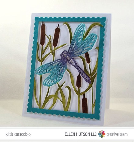 KC Impression Obsession Dragonfly and Cattails right