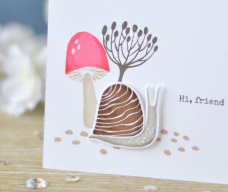 Lostinpaper - Essentials By Ellen - Snailed It (card video) 1