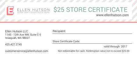 25 Store Credit 2017