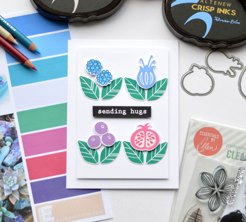 Ellen Hutson - Pin-Sights Color Trend February - Therese (card video) 1