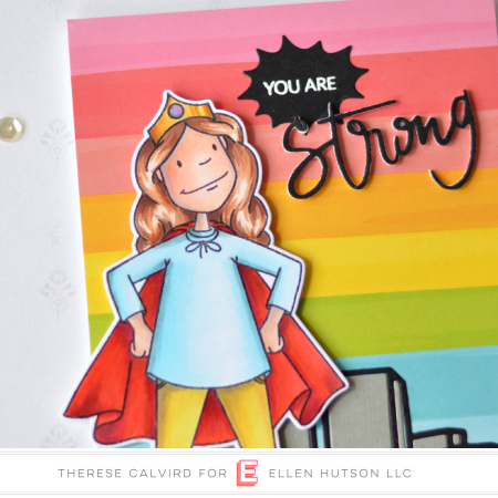 Lostinpaper - Ellen Hutson - Leading Ladies - Everyday Hero Lady - Strong (card video) 3 copy
