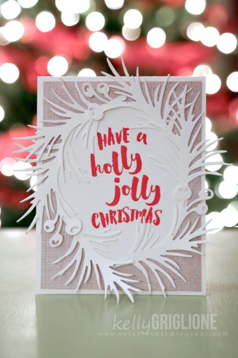 Holly Jolly Julie Ebersole Christmas Card