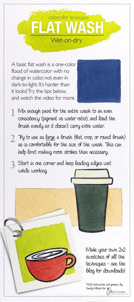Flat Wash Graphic