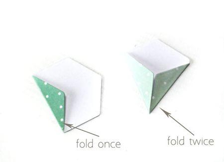 Hexagon-petal-folds