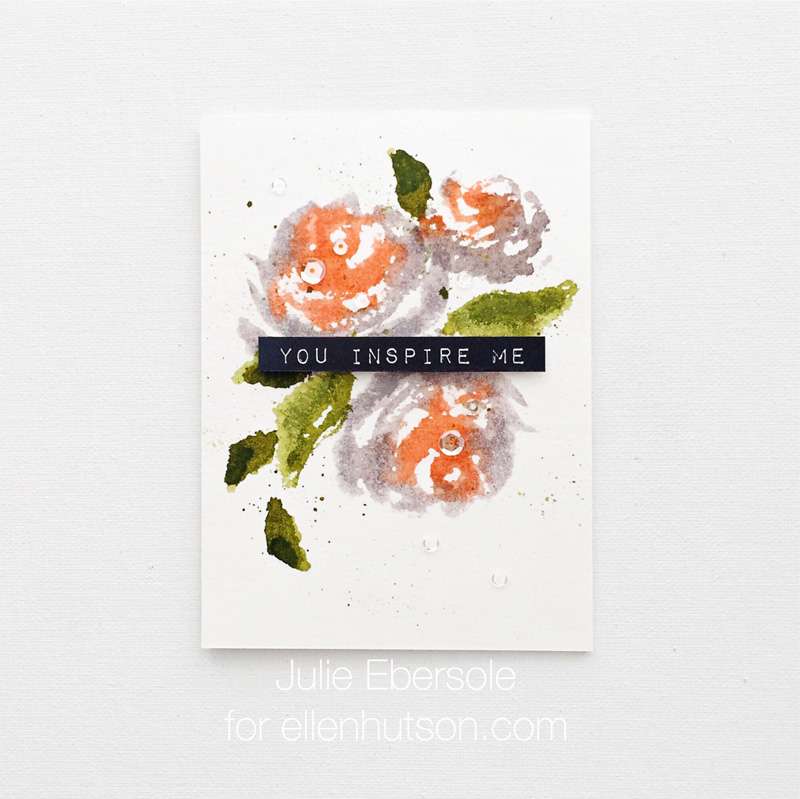 Altenew brush floral 1