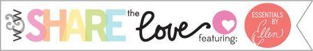 Share the love graphic Essentials by Ellen 2