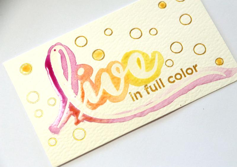 Watercolor-word