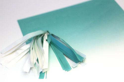 Ombre-paper-fringe