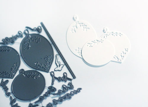 Die-cut-ornaments