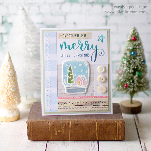 Merry little christmas by carolyn peeler