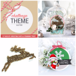 12 Tags of Christmas with a Feminine Twist Glitter Challenge