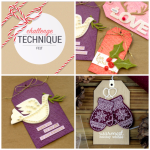 12 Tags of Christmas with a Feminine Twist Felt Challenge