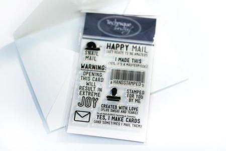 Snail-mail-stamp-set