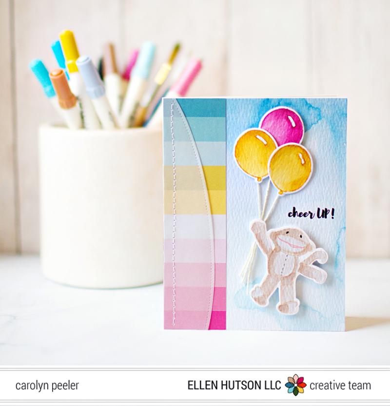 Cheer up card by carolyn peeler