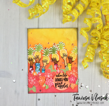 Taniesa Vlasak Pineapples EH Pin Sights challenge