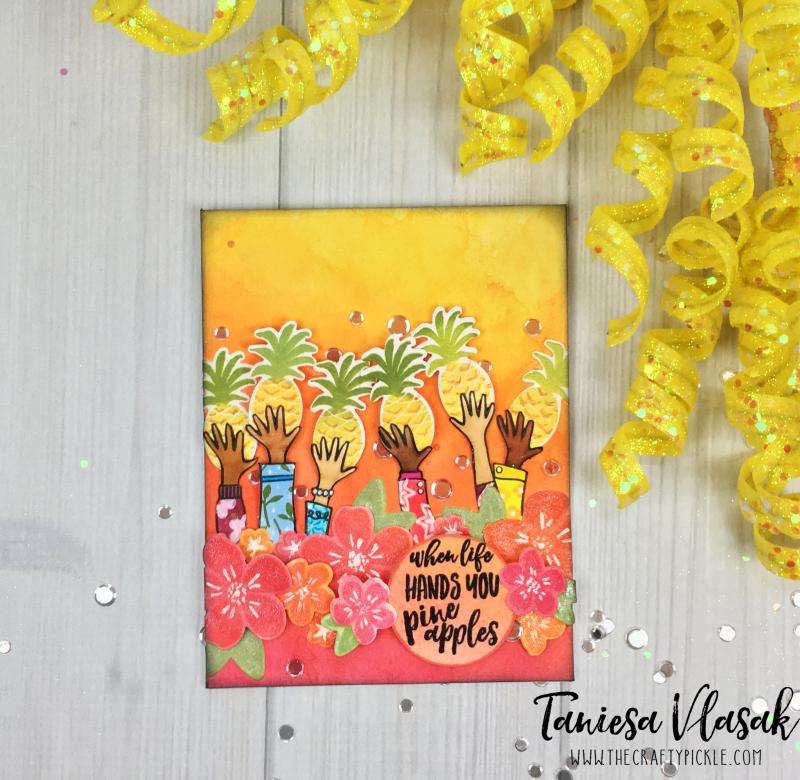 Taniesa Vlasak Pineapples EH Pin Sights challenge