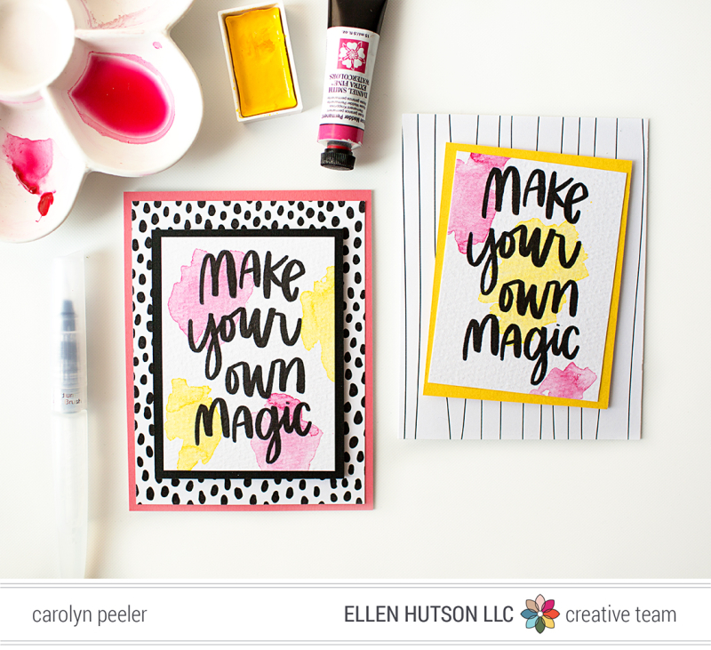 Make your own magic for blog