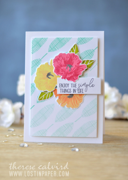 Lostinpaper - Altenew - Ellen Hutson - Mix it Up Challenge (card video) 2