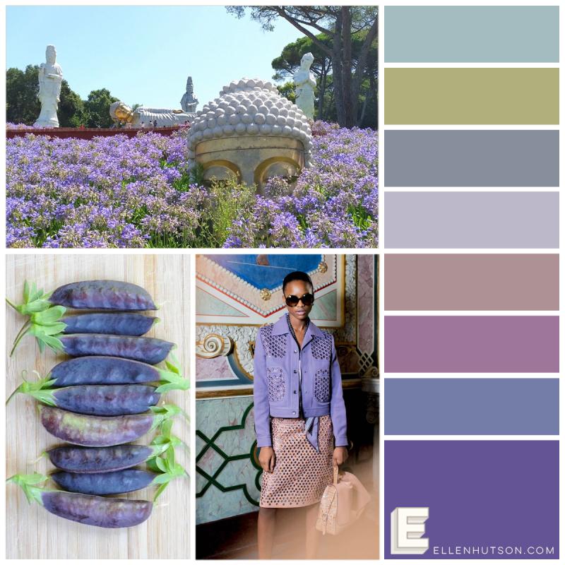 Pin-Sights Color Trend January Purple Haze