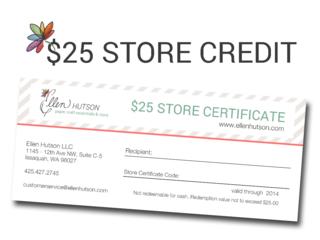 EHLLC 25 Store Credit
