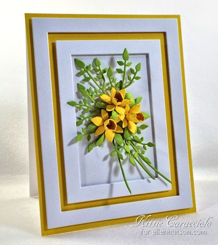 KC Elizabeth Craft Susan Garden  1 38 Inch and Mini Daffodils left