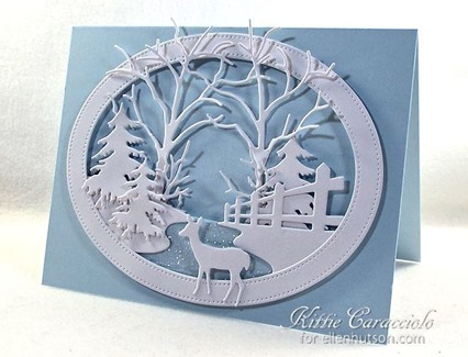 KC Memory Box Country Fence Oval Frame 1 right