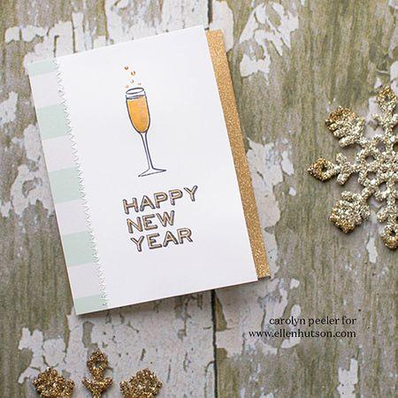 Happy New Year Ellen Hutson