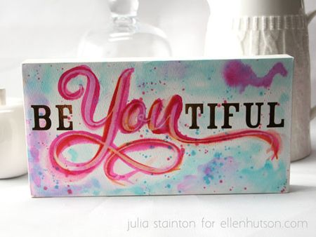Just-add-watercolor-be-you-