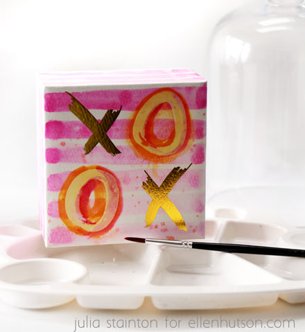Xoxo-watercolored